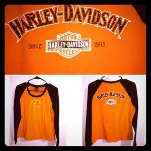 Harley Davidson Woman's Shirt Size XL